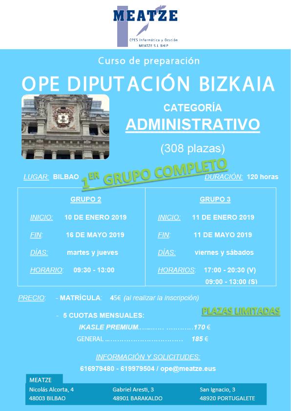 NUEVOS CURSOS DIPU BIZKAIA 2018-2019 MEATZE1-01